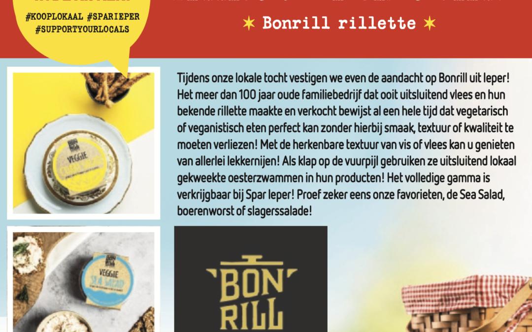 Bonrill + recente veggie aanbod